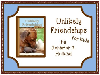 Unlikely Friendships for Kids Text Jigsaw Reading and Writing Task