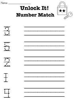 Unlock It! Number Match