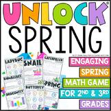 Unlock Spring | Math Games | Editable Challenges