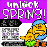 Unlock Spring | Math Games | Editable Challenges