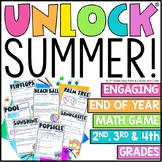 Distance Learning   Unlock Summer   Digital Math Games   Editable Challenges