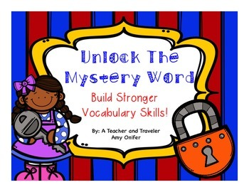 Unlock The Mystery Word