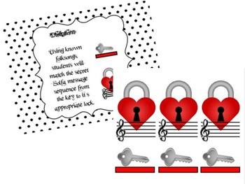 Unlock The Secret Solfa Song - (File Folder Game)