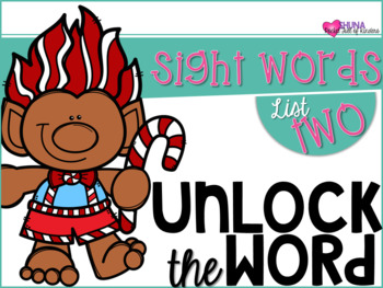 Unlock The Sight Words {List Two}