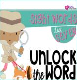 Unlock The Sight Words {List Seven}