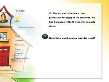 Unlock Word Problems Mnemonic Device