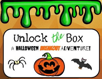 Unlock the Box: A Halloween Problem Solving Adventure