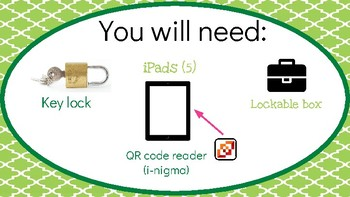 Unlock the Box: A Saint Patrick's Day Breakout Adventure (DIGITAL VERSION)