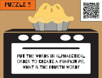 Unlock the Box: A Thanksgiving Breakout Adventure - DIGITAL VERSION!