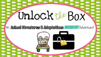 Unlock the Box: Animal Adaptations and Structures