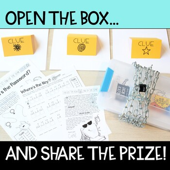 Unlock the Box! End of the Year Math Gr. 2-3 {Addition & Subtraction Stories}
