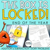 The Box is Locked! End of the Year Math Challenge {Additio