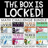 Unlock the Box! GROWING BUNDLE {Addition & Subtraction w/ Regrouping}
