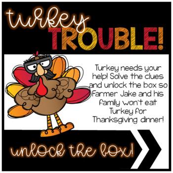 Unlock the Box - Turkey is in Trouble!