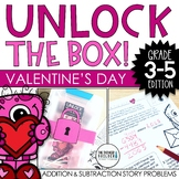 Unlock the Box! Valentine's Day Math {Addition & Subtraction w/ Regrouping}