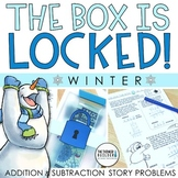 Unlock the Box! Winter Math Activity {Addition & Subtraction w/ Regrouping}