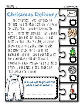 Unlock the Box (a break-out game): The Case of the Abominable Snowman