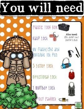 Unlock the Box (a break-out game): The Case of the Back to School Disaster