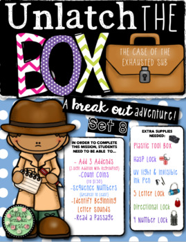 Unlock the Box (a break out game): The Case of the Exhausted Sub