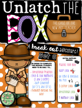 Unlock the Box (a break out game): The Case of the New Art Teacher