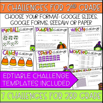 Unlock the Haunted House | Halloween | Math Games | Editable Challenges