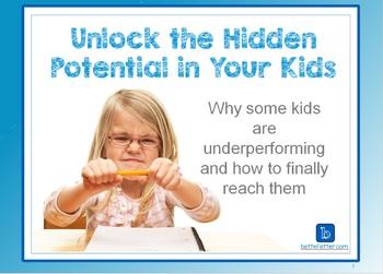 Unlock the Hidden Potential in Your Child