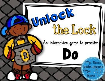 Unlock the Lock: Aural Interactive Game {Do}