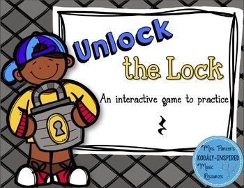Unlock the Lock: Aural Interactive Game {Quarter Rest}