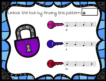 Unlock the Lock: Aural Interactive Game {Re}