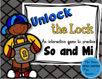 Unlock the Lock: Aural Interactive Game {So and Mi}