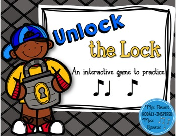 Unlock the Lock: Aural Interactive Game {Ti Ta Ti}