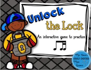 Unlock the Lock: Aural Interactive Game {Ti-Tika}
