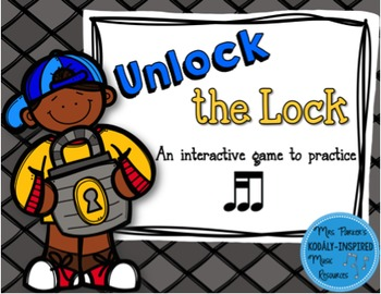 Unlock the Lock: Aural Interactive Game {Tika-Ti}