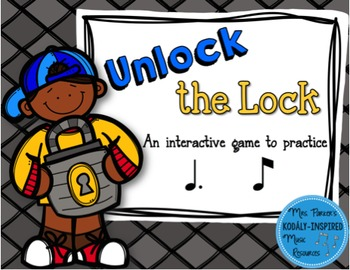 Unlock the Lock: Aural Interactive Game {Tom Ti}