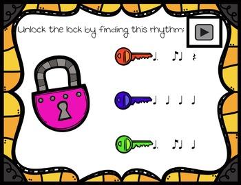 Unlock the Lock: Aural Interactive Game {Tom Ti}