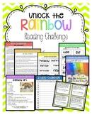 Unlock the Rainbow reading challenges