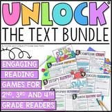 Unlock the Text | Reading Games | BUNDLE | DIGITAL | VIRTUAL
