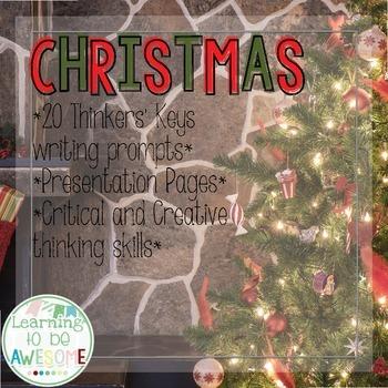 Writing Prompts - Christmas Theme - Thinker's Keys