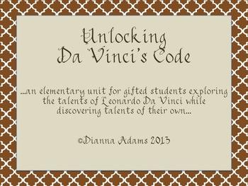 Unlocking Da Vinci's Code!