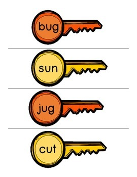 Unlocking Short u CVC Words