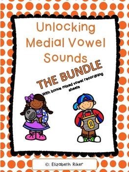 Unlocking Short Vowel CVC Words - The Bundle