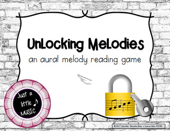 Unlocking Melodies -  Aural melody practice {re pentatonic}