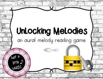 Unlocking Melodies -  Aural melody practice {sol mi}
