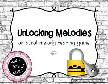 Unlocking Melodies -  Aural melody practice {sol mi la}