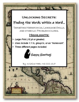 Unlocking Secrets: Finding the Words Within a Word...