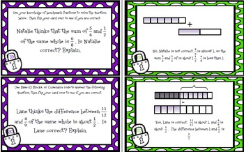 Unlocking The Secret to Benchmark Fractions: Math TEKS 4.3F & CCSS: 4.NF.A.2