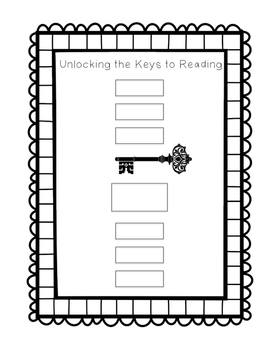 Unlocking the Keys to Reading Worksheet
