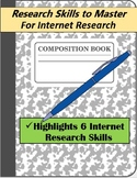 Research Skills to Master: For Internet Research