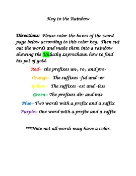 I used this book to introduce my class to the prefix un-. Of ...