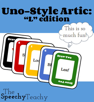 Uno-Style Artic: L Words